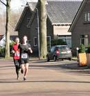 18-02-19 Rene Smith tijdens de Winter Trail in Exloo. Foto: Roelie Knigge Onstwedde.info