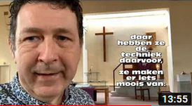 Video berichten vanuit de Geref. kerk